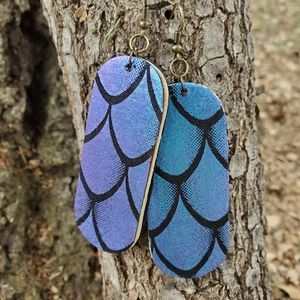 1/$6 or 2/$8 Wood/Cloth Earrings